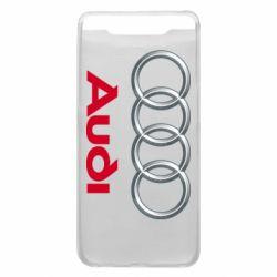 Чохол для Samsung A80 Audi 3D Logo