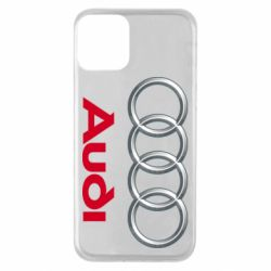 Чохол для iPhone 11 Audi 3D Logo