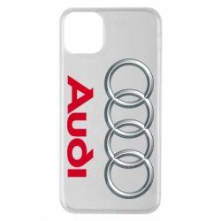 Чохол для iPhone 11 Pro Max Audi 3D Logo