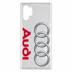 Чохол для Samsung Note 10 Plus Audi 3D Logo
