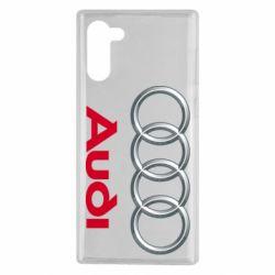 Чохол для Samsung Note 10 Audi 3D Logo