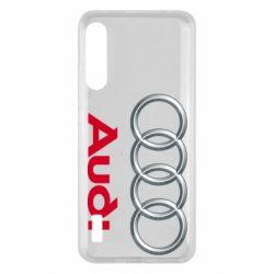 Чохол для Xiaomi Mi A3 Audi 3D Logo