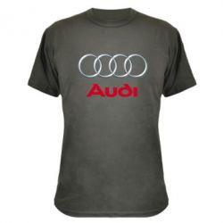 Камуфляжная футболка Audi 3D Logo