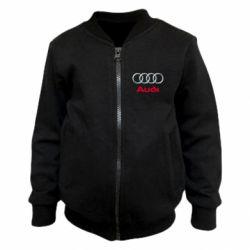 Дитячий бомбер Audi 3D Logo