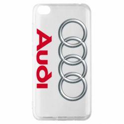 Чохол для Xiaomi Redmi Go Audi 3D Logo