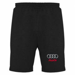 Мужские шорты Audi 3D Logo - FatLine
