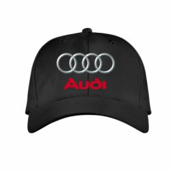Детская кепка Audi 3D Logo - FatLine