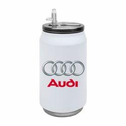 Термобанка 350ml Audi 3D Logo