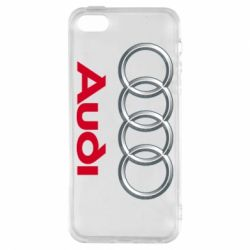 Чохол для iphone 5/5S/SE Audi 3D Logo