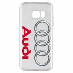 Чохол для Samsung S7 Audi 3D Logo