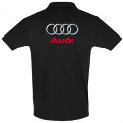 Футболка Поло Audi 3D Logo - FatLine