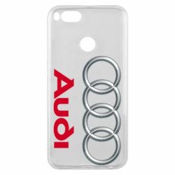 Чохол для Xiaomi Mi A1 Audi 3D Logo
