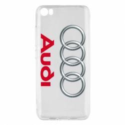 Чохол для Xiaomi Mi5/Mi5 Pro Audi 3D Logo