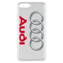 Чохол для Xiaomi Mi Note 3 Audi 3D Logo