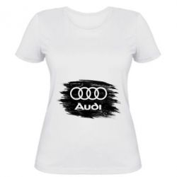 Жіноча футболка Ауді арт, Audi art