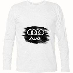 Футболка з довгим рукавом Ауді арт, Audi art