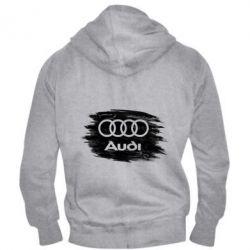 Чоловіча толстовка на блискавці Ауді арт, Audi art