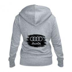 Жіноча толстовка на блискавці Ауді арт, Audi art
