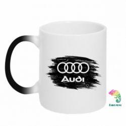 Кружка-хамелеон Ауді арт, Audi art