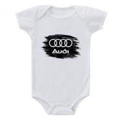Дитячий бодік Ауді арт, Audi art