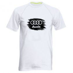 Чоловіча спортивна футболка Ауді арт, Audi art