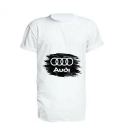 Подовжена футболка Ауді арт, Audi art