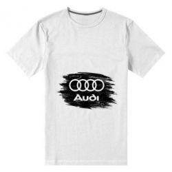 Чоловіча стрейчева футболка Ауді арт, Audi art