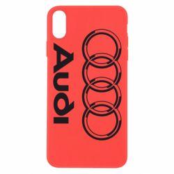Чехол для iPhone Xs Max Audi Big