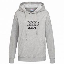 Женская толстовка Audi Big - FatLine