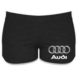 Женские шорты Audi Big - FatLine