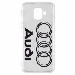 Чехол для Samsung A6 2018 Audi Big