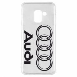 Чехол для Samsung A8 2018 Audi Big