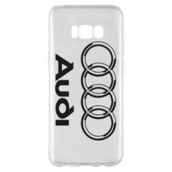 Чехол для Samsung S8+ Audi Big