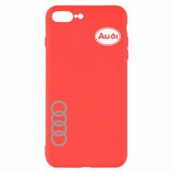 Чехол для iPhone 7 Plus Audi Logo