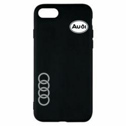 Чохол для iPhone 8 Логотип Audi