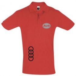 Футболка Поло Логотип Audi