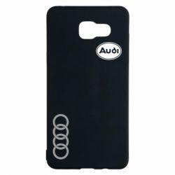 Чехол для Samsung A5 2016 Audi Logo