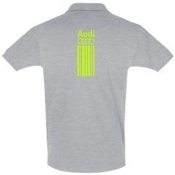 Футболка Поло Aуди лого