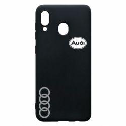 Чохол для Samsung A30 Логотип Audi