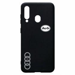 Чехол для Samsung A60 Audi Logo