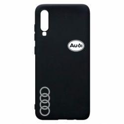 Чехол для Samsung A70 Audi Logo