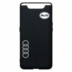 Чехол для Samsung A80 Audi Logo