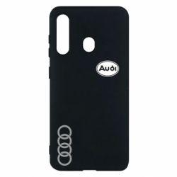 Чохол для Samsung M40 Логотип Audi