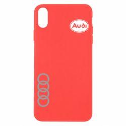 Чехол для iPhone X/Xs Audi Logo