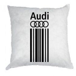 Подушка Aуди лого