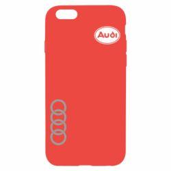 Чохол для iPhone 6/6S Логотип Audi
