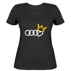 Жіноча футболка Audi queen