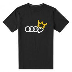 Чоловіча стрейчева футболка Audi queen