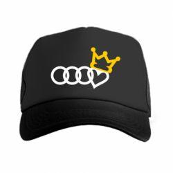 Кепка-тракер Audi queen