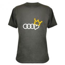 Камуфляжна футболка Audi queen
